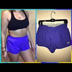 Nike Fit Dry Running Shorts.